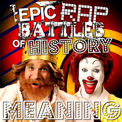 Ronald McDonald vs the Burger King Meanings.png