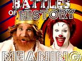 Ronald McDonald vs The Burger King/Rap Meanings