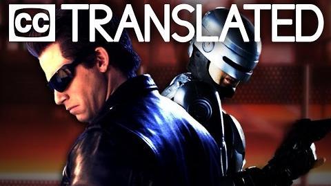 TRANSLATED Terminator vs Robocop. Epic Rap Battles of History
