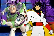Buzz lightyear vs space ghost