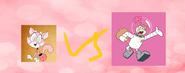 Shima luan vs sandy cheeks