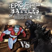 Captain Planet vs Godzilla