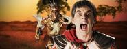 Shaka Zulu vs Julius Caesar Banner