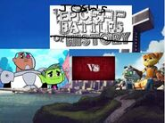 Beastboy and cyborg vs ratchet and clank