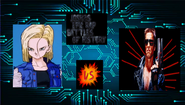 Android 18 vs the terminator