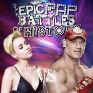 Miley Cyrus vs John Cena wot