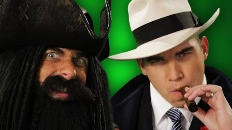 Epic Rap Battles of History - Behind the Scenes - Blackbeard vs Al Capone