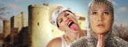 Miley Cyrus vs Joan of Arc Banner