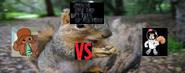 Penny squirrel vs sandy cheeks