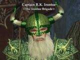 Captain R.K. Irontoe