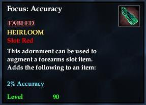 Focus: Accuracy (yellow)