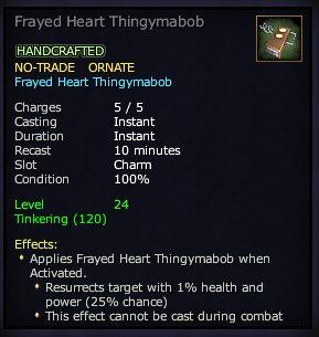 Frayed Heart Thingymabob
