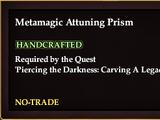 Metamagic Attuning Prism