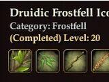 Druidic Frostfell Icons