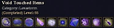 Void Touched Items