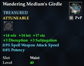 Wandering Medium's Girdle