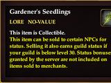 Gardener's Seedlings