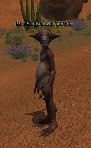 A Sandscrawler sorcerer