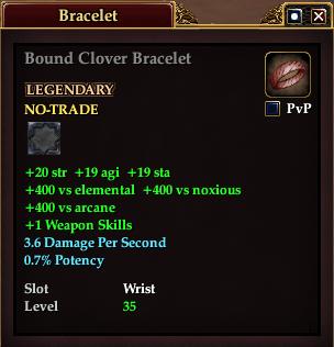 Bound Clover Bracelet (Version 1)