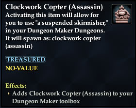 Clockwork Copter (Assassin)