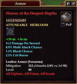 Sleeves of the Deepest Depths (Level 80)