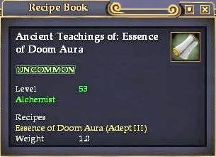 Ancient Teachings of: Essence of Doom Aura