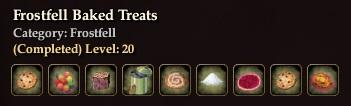 Frostfell Baked Treats