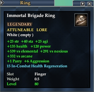 Immortal Brigade Ring (Version 1)