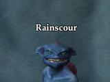 Rainscour