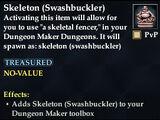 Skeleton (Swashbuckler)