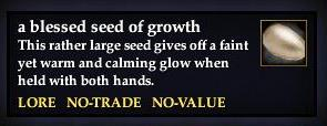 A blessed seed of growth