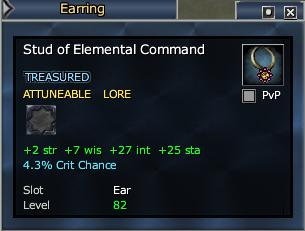 Stud of Elemental Command