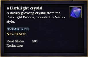 A Darklight crystal