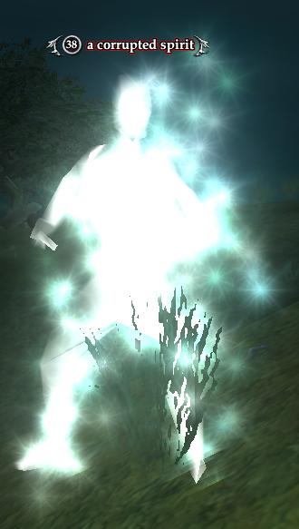 A corrupted spirit