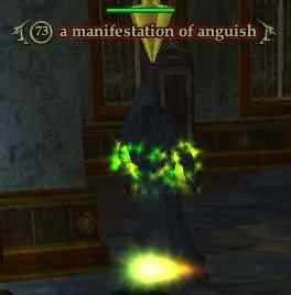 A manifestation of anguish