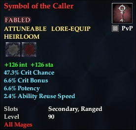 Symbol of the Caller
