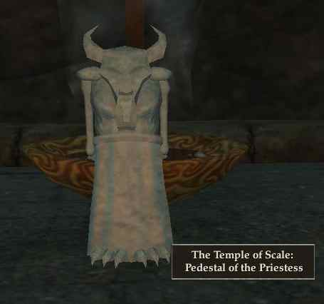 The Temple of Scale: Pedestal of the Priestess