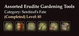 Assorted Erudite Gardening Tools