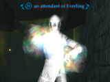 An attendant of Everling