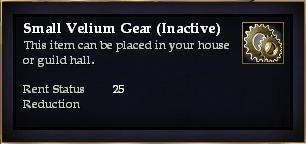 Small Velium Gear (Inactive)
