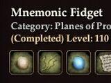 Mnemonic Fidget (Collection)
