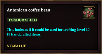 Antonican coffee bean