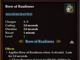 Brew of Readiness (Crafted)
