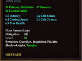 Archon's Plate Greaves of Smiting