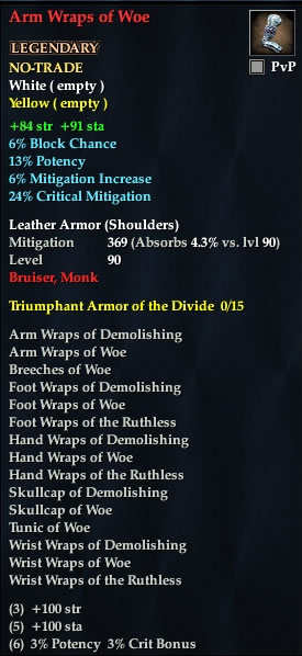 Arm Wraps of Woe