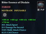 Bitter Essence of Disdain
