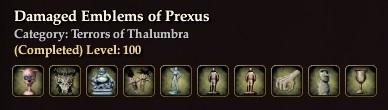 Damaged Emblems of Prexus