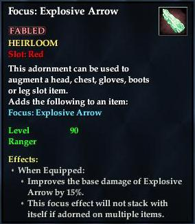 Focus: Explosive Arrow (Item)