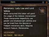 Mercenary: Lady Liae and Lord Valkiss