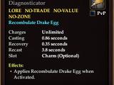 Organo-Synthetic Egg Diagnosticator
